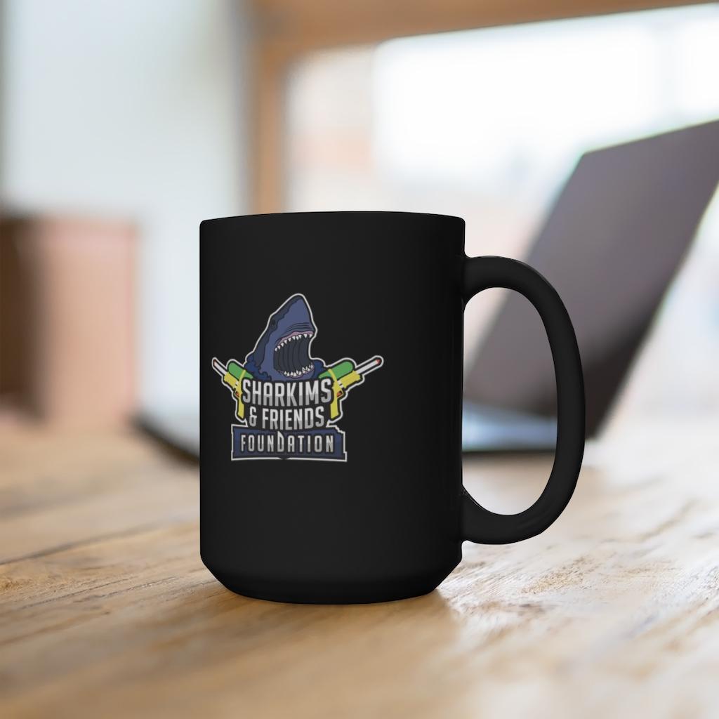 S&FF – 15oz Black Mug